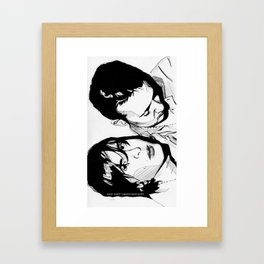 The Libertines | Pete Doherty and Carl Barat Framed Art Print