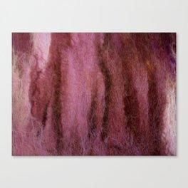 Purple wool fall Canvas Print