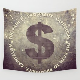 The Path To Prosperity Wall Tapestry
