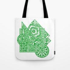 little green men Tote Bag