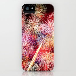 Celebrate Your Life with Fireworks! iPhone Case