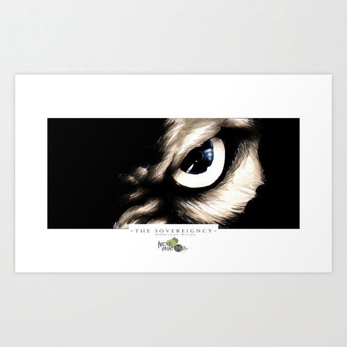 Eye of the Wolf Art Print