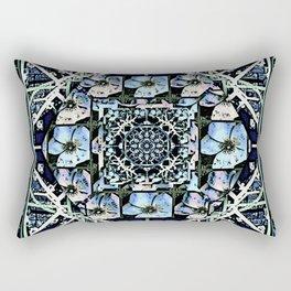 Cherokee Rose Pattern BG 1 Rectangular Pillow