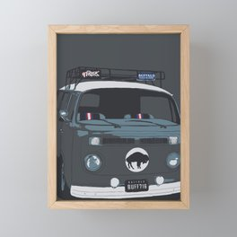 TAILGATE WAGON Framed Mini Art Print