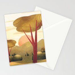 Morning Warm Glow 01 Stationery Cards