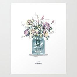 the simple life.  Art Print