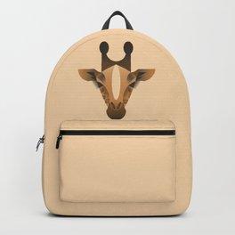 Geometric Giraffe Backpack