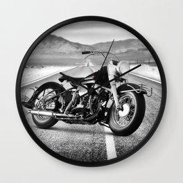 Harley FL 1950 Wall Clock