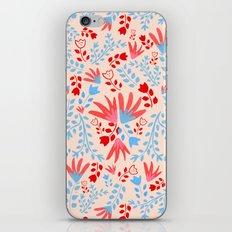 Tulip Pattern iPhone Skin