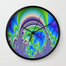 Fractal Arch Wall Clock