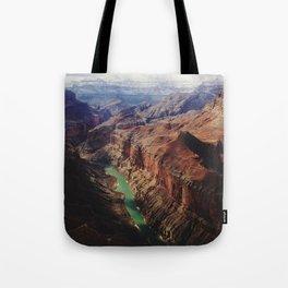 The Colorado Runs Through Marble Canyon Tote Bag