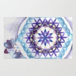 Levender Mandala Rug