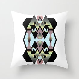 Arabic Castle Throw Pillow