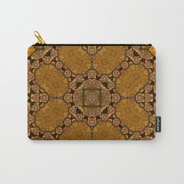 Victorian Art Deco Medieval Pattern SB36 Carry-All Pouch