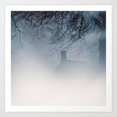 Ghost House Art Print