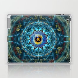 """Om Namah Shivaya"" Mantra- The True Identity- Your self Laptop & iPad Skin"