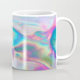 Iridescence - Rainbow Abstract Coffee Mug