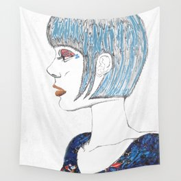 Self Portrait Wall Tapestry
