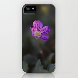 Pink Veins iPhone Case