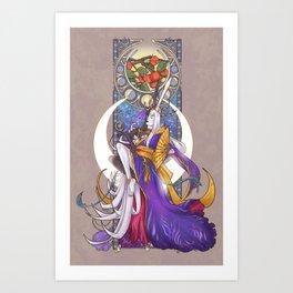 Lunar Repose Art Print