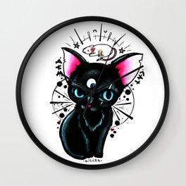 Bad Cat Wall Clock