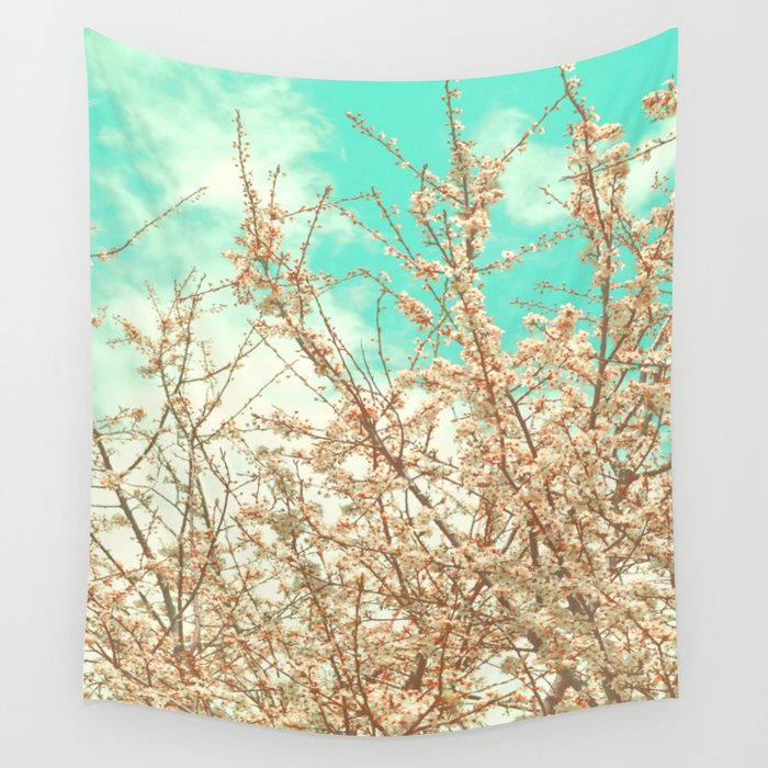 Blossoms Wall Tapestry