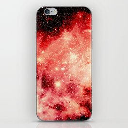 Red Carina Nebula iPhone Skin