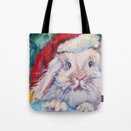 Jingle Bunny Tote Bag