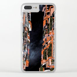 Nepal Apartments Clear iPhone Case