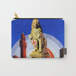 Florence Firenze travel, lion statue Carry-All Pouch