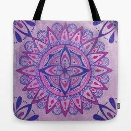 Simpe Purpe Manala Tote Bag
