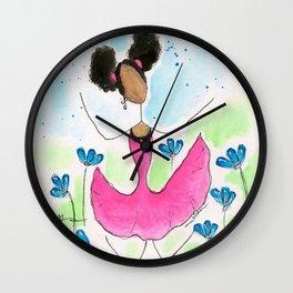 Tia Jump Wall Clock