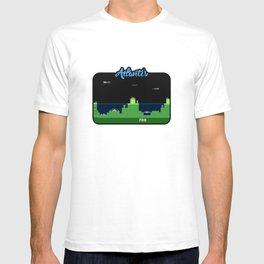 Atlantis Video Game Art T-shirt