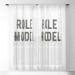 Role Model Sheer Curtain