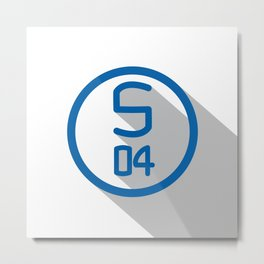 Schalke 04 Metal Print