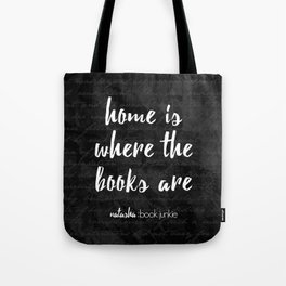 NBJ - Home is Where the Books Are Tote Bag