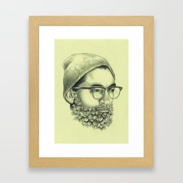 Wild Garden nº4 Framed Art Print