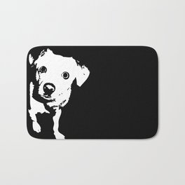 Graphic Dog | Black & White Bath Mat