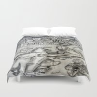 military Duvet Covers featuring Military by Amanda McCrory