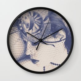 Feeling Blue Without You Wall Clock