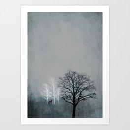 NOVEMBER FOREST Art Print