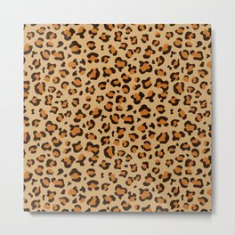 Leopard Prints Metal Print