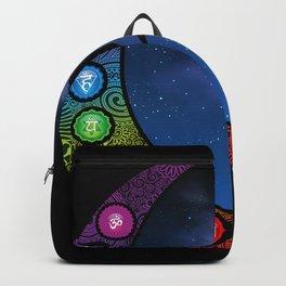 Crescent Moon Chakra - Nightscape Backpack