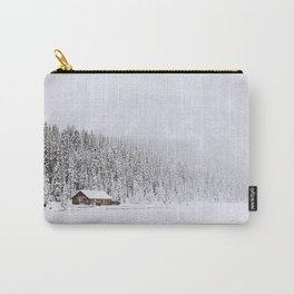 blinded by the white // lake louise Carry-All Pouch