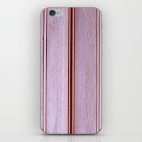 surfboard iPhone & iPod Skins featuring Bolsawood Surfboard Detail by John Lyman Photos