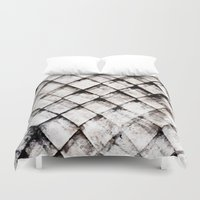 shells Duvet Covers featuring SHELLS by ED design for fun