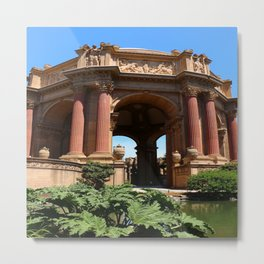 Palace of Fine Arts - Marina District Metal Print