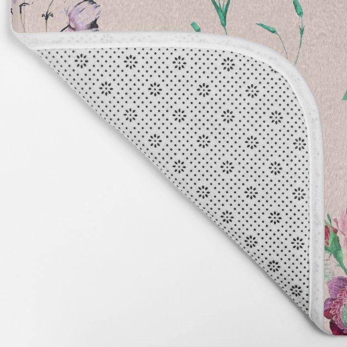 Florals #society6 #decor #lifestyle #tech Bath Mat