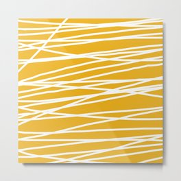 Abstract lines Metal Print