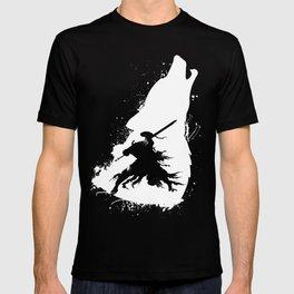 Artorias and Sif Dark Soul T-shirt